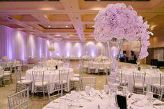 An Elegant Orchid Wedding at Hyatt Regency Santa Clara, CA