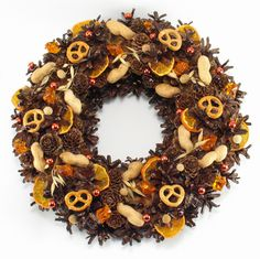 Christmas Decorations – Christmas Wreath, Natural Wreath, Pinecone wreath – a unique product by Zielonepalce on DaWanda