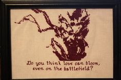 Metal Gear Cross-stitch - NEEDLEWORK