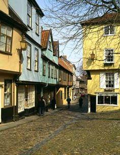 Elm Street Hill, Norwich, England