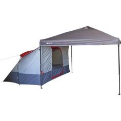 Ozark W634.1 Trail 4-Person 9' x 7' Connectent for Canopy Tents-Gray in Sporting Goods, Outdoor Sports, Camping & Hiking | eBay