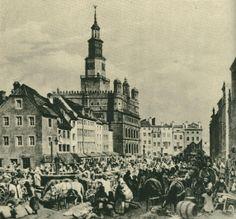 Poznań ( Poland) Stary Rynek ( Old Market) 1890 -1900