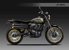 Motorcycle Design, Scrambler, Hero, Vehicles, Car, Vehicle, Tools