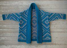 Ravelry: Arrowhead Cardigan pattern by Anna Cohen $9
