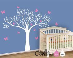 Nursery Tree Wall Decal Wall Sticker  Tree Wall by WallConsilia, $76.00