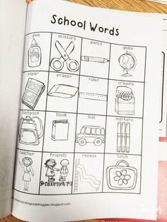 Place word lists in your students writing folders to help with common words and…