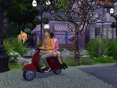 Enure Sims: Scooter convereted from TS3 to TS4 • Sims 4 Downloads