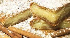 Σε μια κατσαρόλα ρίχνετε το γάλα και την ζάχαρη. Τα βάζετε να ζεσταθούν και ανακατεύετε με σύρμα μέχρι να λιώσει η ζάχαρη. Greek Sweets, Greek Desserts, Greek Recipes, Cookbook Recipes, Dessert Recipes, Cooking Recipes, The Kitchen Food Network, Sweets Cake, Appetisers