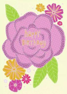 Happy Birthday (Art. Lizzie Preston)
