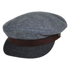 ef4e89c1d2d Brixton Hats 2-Tone Fiddler Cap Hat Brixton Hats