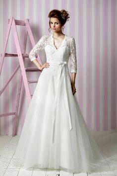 Charlotte Balbier Wedding Dresses 2012 — Candy Kisses Bridal Collection | Wedding Inspirasi