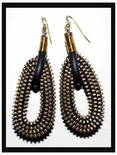 Zipper Earrings!