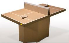 Facile à construire sans colle ni outils Écologique et naturelle Fabriqué avec 100% de matériaux recyclés Dimensions de la table : 163 cm x 90 cm x 77 cm