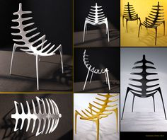 Spine chair - design Dmitry Kozinenko 2012