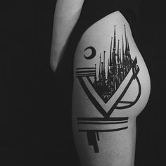 Castles by @thievesoftower based in Greensboro, North Carolina / starting guest spots in San Francisco - 2spirit Tattoo