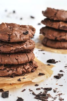 Supersofte Schoko-Brownie-Cookies