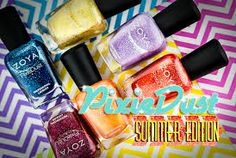 Zoya Pixie Dust Brights Collection