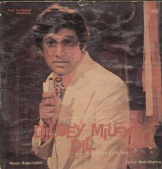 Dilsey Miley Dil 1970  Bollywood Vinyl LP