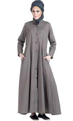 992546ac4f1 100% Twill Button Down Jilbab Dress 100% Twill Button Down Jilbab Dress Add  to wishlist