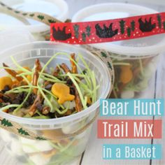 Try this Bear Hunt Trail MIx as a snack for your kids along with diy basket to carry their afterschool snack in as they play. Gingerbread House Frosting, Edible Grass, Easy Royal Icing Recipe, Fireman Birthday, How To Tie Ribbon, How To Make Fire, Cookie Icing, After School Snacks, Christmas Chocolate
