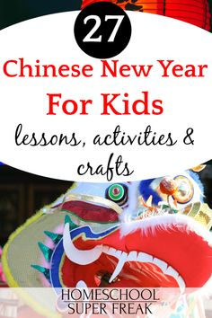 27 Chinese New Year Activities and Free Printable