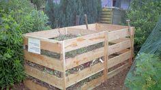 houten compostbakken
