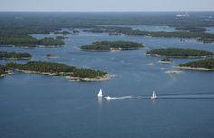 Inkoo archipelago #Finland Archipelago, Homeland, Denmark, Norway, Sweden, Coast, River, Spaces, Country