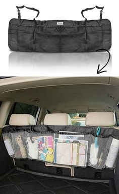 #36. Cargo Net Trunk Organizer -- 55 Genius Storage Inventions That Will Simplify Your Life