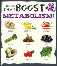 7 Healing Foods that Boost Metabolism.  Number 2 is my favorite, what is yours?