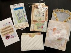 Junk Journal and Ephemera Kit - Vintage Botanical - Liz The Paper Project
