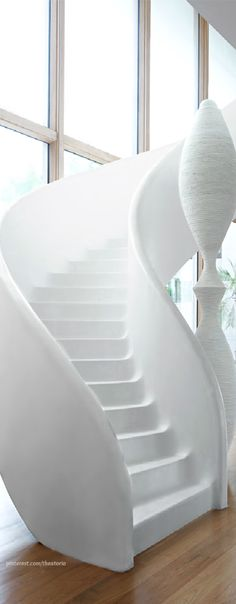 Awesome staircase! I wonder if you walk down it with heels would it feel slick or would it grip your shoes....