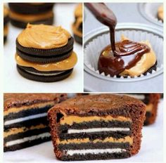 Omg.  #oreos #peanutbutter #foodie #noms