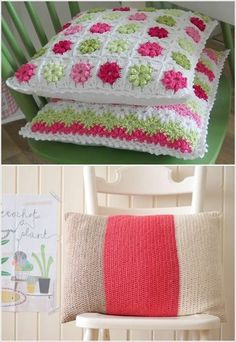 Do you love crocheting? Is yes then have a look at these ideas and use your creative skills to decorate your home with crochet: 1. Adorn Your Kitchen Windo