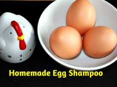 Homemade Egg Shampoo: High in protein, egg shampoo is excellent for fine, thin or oily hair. The protein works to strengthen the hair shaft, and adds body