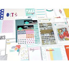Sharing our @hipkitclub #october2015 #projectlife Add-On Kit featuring a set of 25 #hkcexclusiveprojectlife Project Life cards designed by our DT member Kim Watson.  We start shipping in TWO days!  @kjstarre @pinkpaislee #cedarlane @heidiswapp #makeprettystuff @shop.evalicious #puffystickers #memorandum #hipkit #hipkits #hipkitclub #scrapbooking #scrapbookkitclub #pl #ephemera