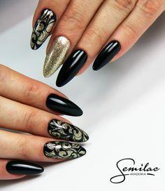 Black&Gold elegance #black #gold #elegance