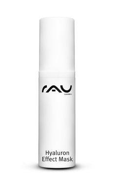 Die RAU Hyaluron Effect Mask ist eine Gesichtsmaske mit Hyaluronsäure für alle Hauttypen. Zusätzlich spenden hochwertige Inhaltsstoffe wie Aloe Vera, Sonnenblumenöl und Sorbitol Feuchtigkeit und machen damit diese Maske zu einer erholsamen Kur für Ihre Haut und Ihren Teint. Eine detaillierte Anleitung zur richtigen Anwendung finden Sie in der Produktbeschreibung.