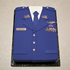 Air Force Uniform Cake | Grooms Cakes » Ashley Cakes