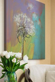 10 Wishful Pieces of Dandelion Art featuring @greatbigcanvas and @imagekind via @surroundmag.