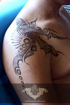 Man, henna, mehndi