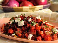 Roasted Vegetable Quinoa Salad Recipe : Marcela Valladolid : Food Network - FoodNetwork.com