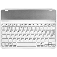Kensington KeyFolio Thin X2 K97248US Keyboard/Cover Case (Folio) for 9.7 iPad Air - White - Drop Proof - Polycarbonate - 11.3 Height x 8.1 Width x 1.4 Depth