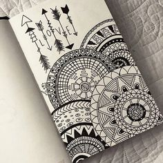 drawing, love, and mandala image art drawings, art - mandala art sketch Doodle Art Drawing, Mandalas Drawing, Zentangle Drawings, Pencil Art Drawings, Art Drawings Sketches, Zentangles, Drawing Ideas, Easy Mandala Drawing, Mandala Doodle