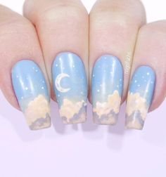 100 Best Nail Designs Ever 100 beste negledesign noensinne – Game of Spoons Perfect Nails, Gorgeous Nails, Pretty Nails, Cute Nail Designs, Acrylic Nail Designs, Kawaii Nails, Ballerina Nails, Fire Nails, Cute Nail Art
