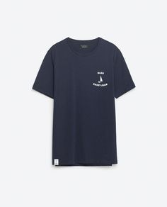 Image 8 of MARINE DESIGN T-SHIRT from Zara