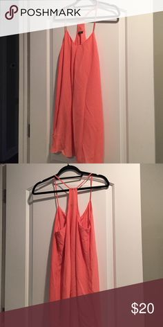 Dress Only worn a few times. Good condition. No stains or tears. Peach color Dresses Midi