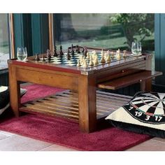 Game Coffee Table --- http://www.pinterest.com.itshot.me/7l1