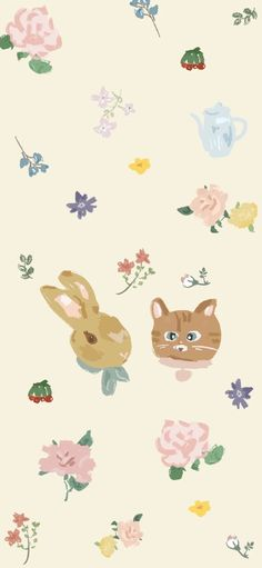 Cute Wallpapers, Iphone Wallpapers, Pink Aesthetic, Sanrio, Illustrations Posters, Pikachu, Carpet, Cartoon, Disney