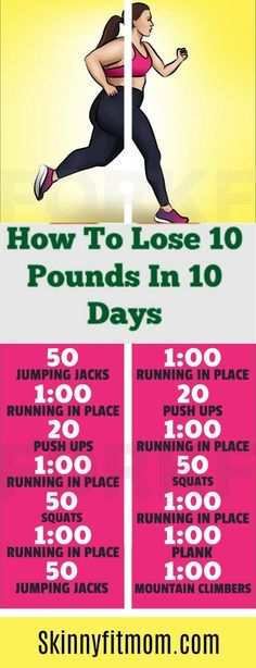 How To Lose 10 Pounds In 10 Days: 7 Best Weight Loss Tips That Works How To Lose 10 Pounds In 10 Days! Workouts Weight Loss Tips that works. via The post How To Lose 10 Pounds In 10 Days: 7 Best Weight Loss Tips That Works appeared first on Diet.