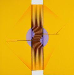 Alberto Biasi (b.1937), Con-centro (2008)